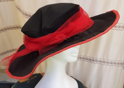 Chapeau Femme Ceremonie Capeline Tulle