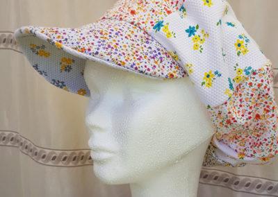 Casquette femme ETE – coton fleuri