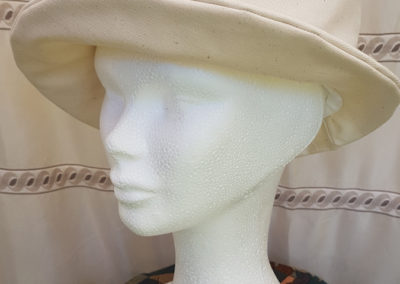 Chapeau ETE – Coton et lin uni