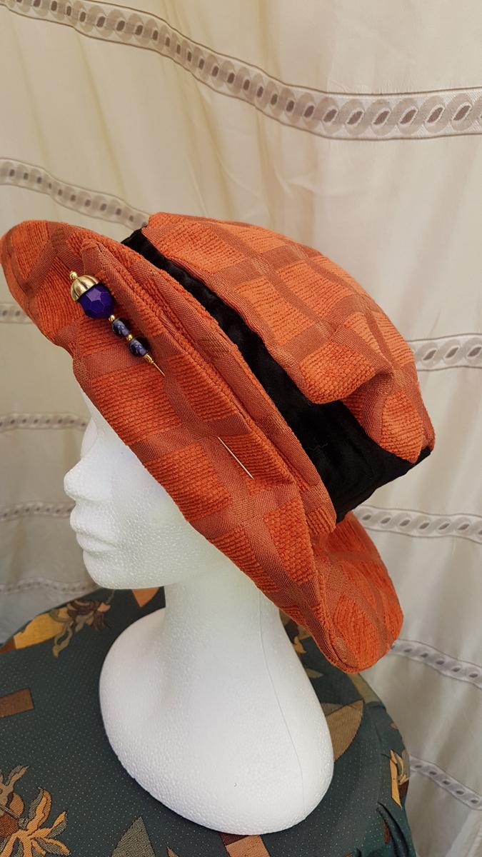 Chapeau femme HIVER – QUEBEC – Laine et Viscose